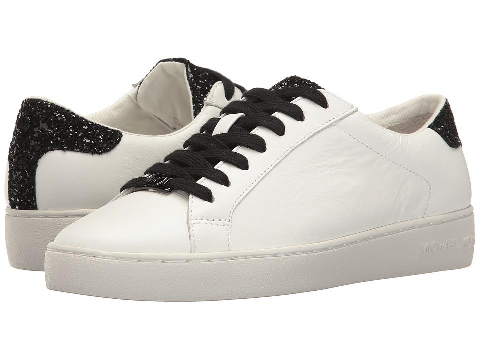 MICHAEL Michael Kors - Irving Lace-Up (Optic White/Black) Women's Shoes