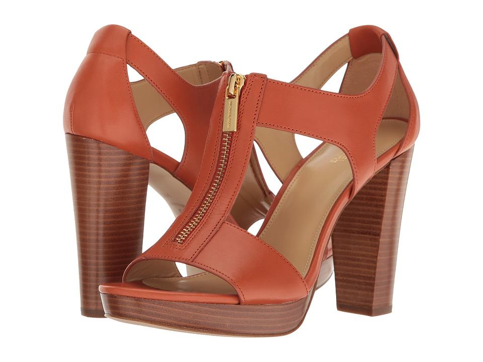 MICHAEL Michael Kors Berkley Sandal (Orange) Women
