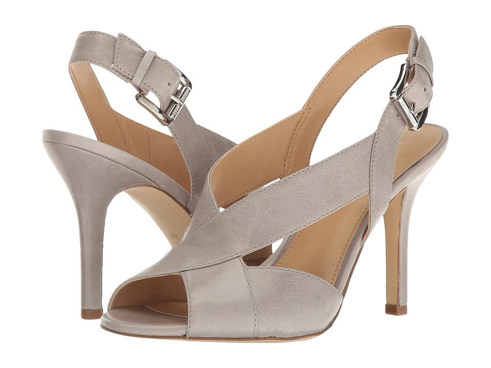 MICHAEL Michael Kors - Becky Sandal (Pearl Grey) Women's Sandals