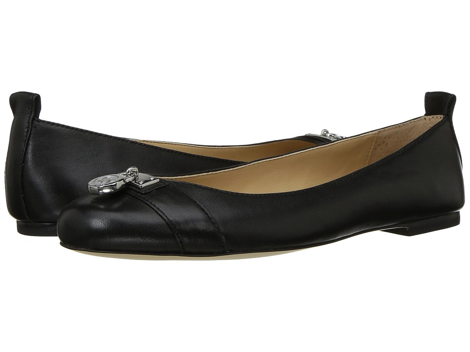 MICHAEL Michael Kors - MK Hamilton Ballet (Black) Women's Shoes