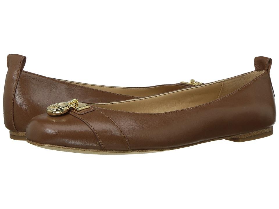 MICHAEL Michael Kors - MK Hamilton Ballet (Black) Women's Shoes