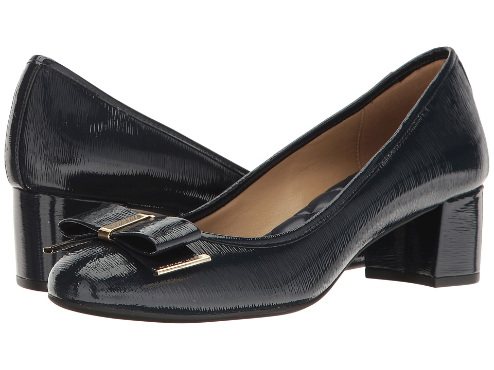MICHAEL Michael Kors - Kiera Mid Pump (Navy) Women's 1-2 inch heel Shoes