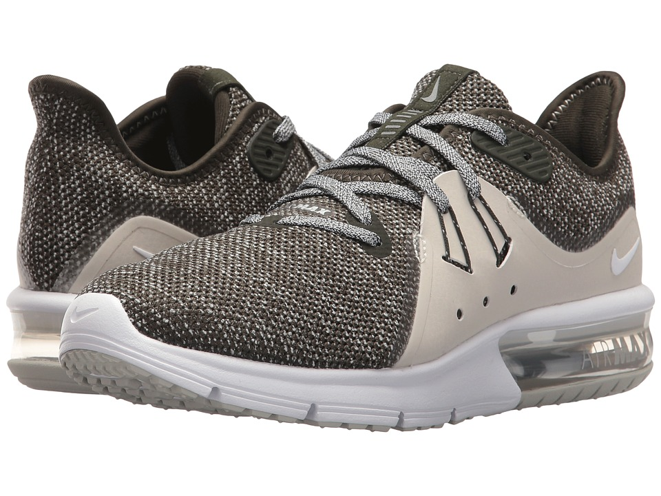 Nike Air Max Sequent 3 (Sequoia/Metallic Platinum/White) Women