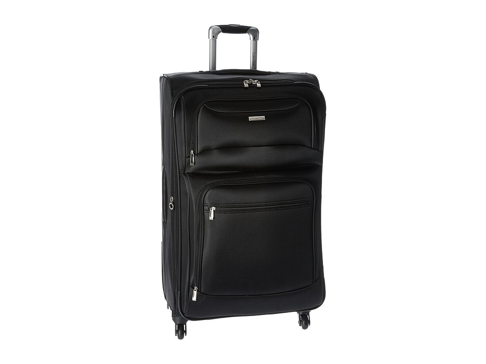 Calvin Klein - Gramercy 28 Upright Suitcase (Noir) Luggage