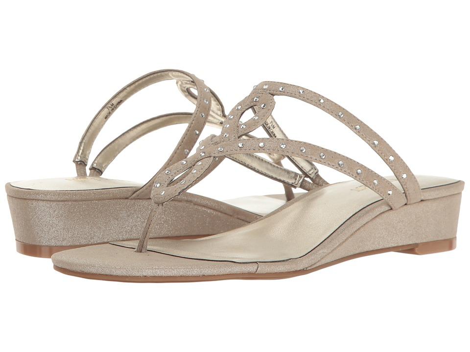 Nine West - Katherine (Silver Fabric) Women's Shoes