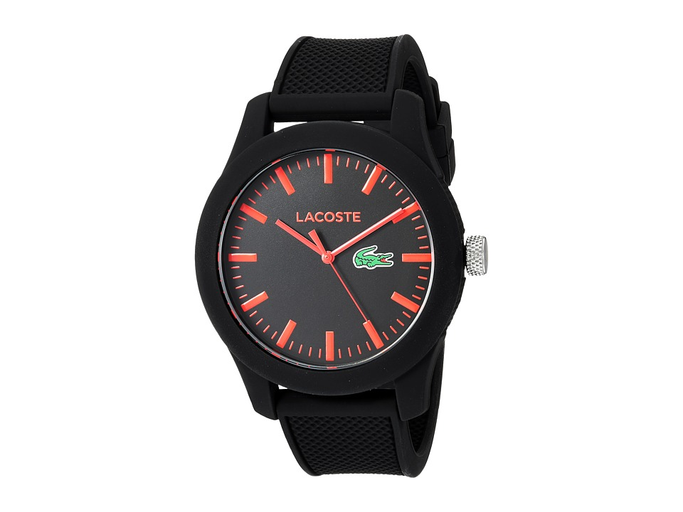 Lacoste - 2010794 - L1212 (Black/Red) Watches