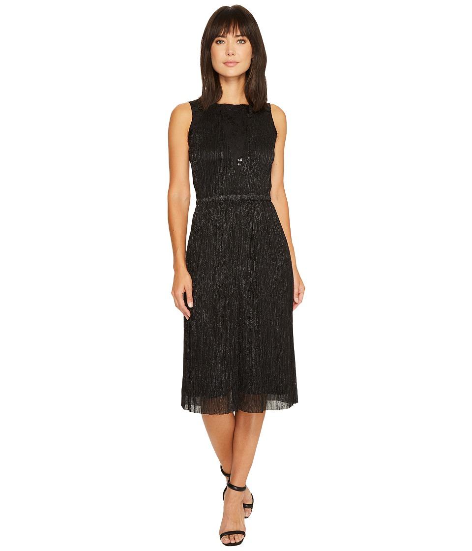 Tahari by ASL Grecian Dress (Black) Women