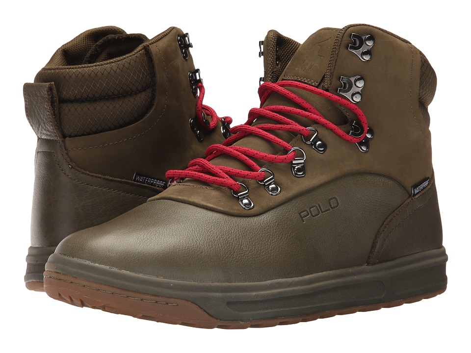 Polo Ralph Lauren Alpine 100 (Military Green/Military Green) Men\u0027s Shoes