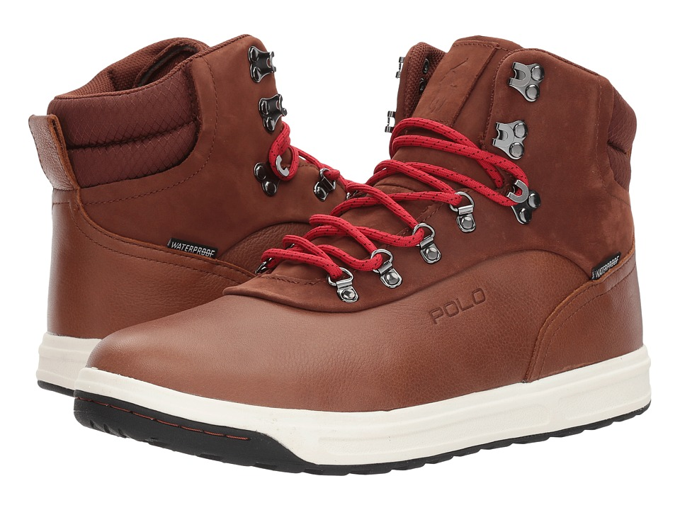 Polo Ralph Lauren Alpine 100 (Deep Saddle Tan/New Tan) Men\u0027s Shoes