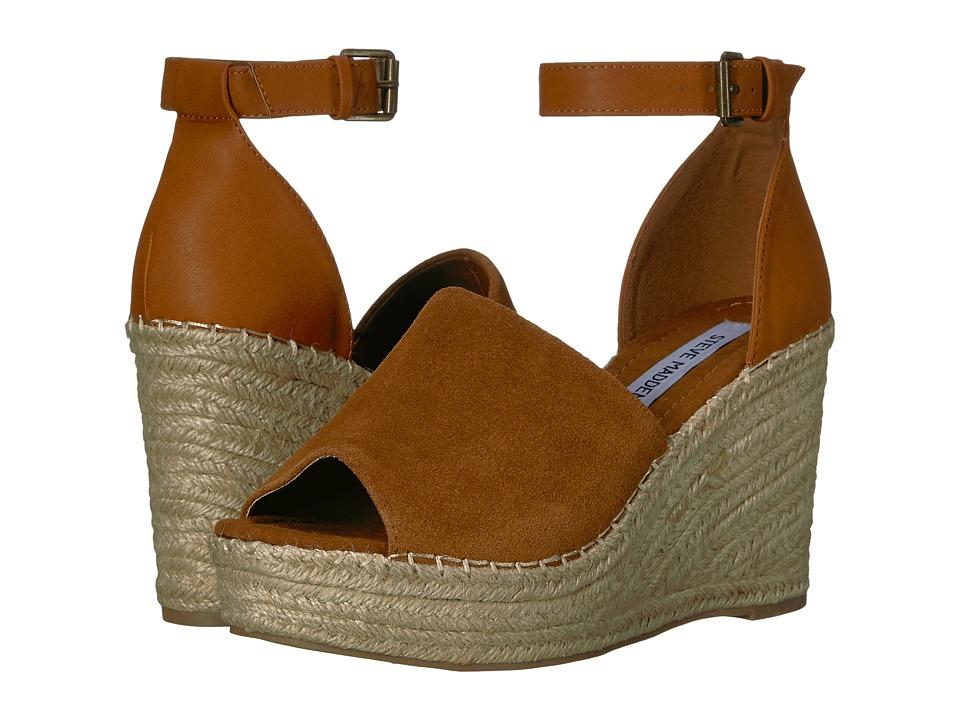 Steve Madden - Marina (Cognac Suede) Women's Shoes