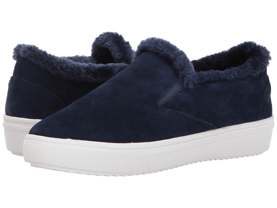Steven Cuddles (Navy Suede) Women