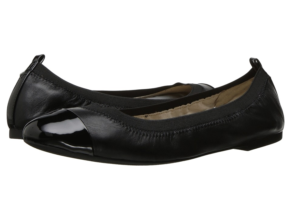 Sam Edelman - Freya (Black Leather) Women's Flat Shoes