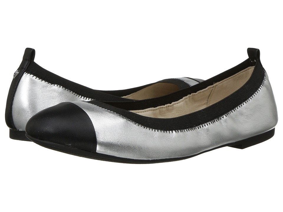 Sam Edelman - Freya (Soft Silver Leather) Women's Flat Shoes