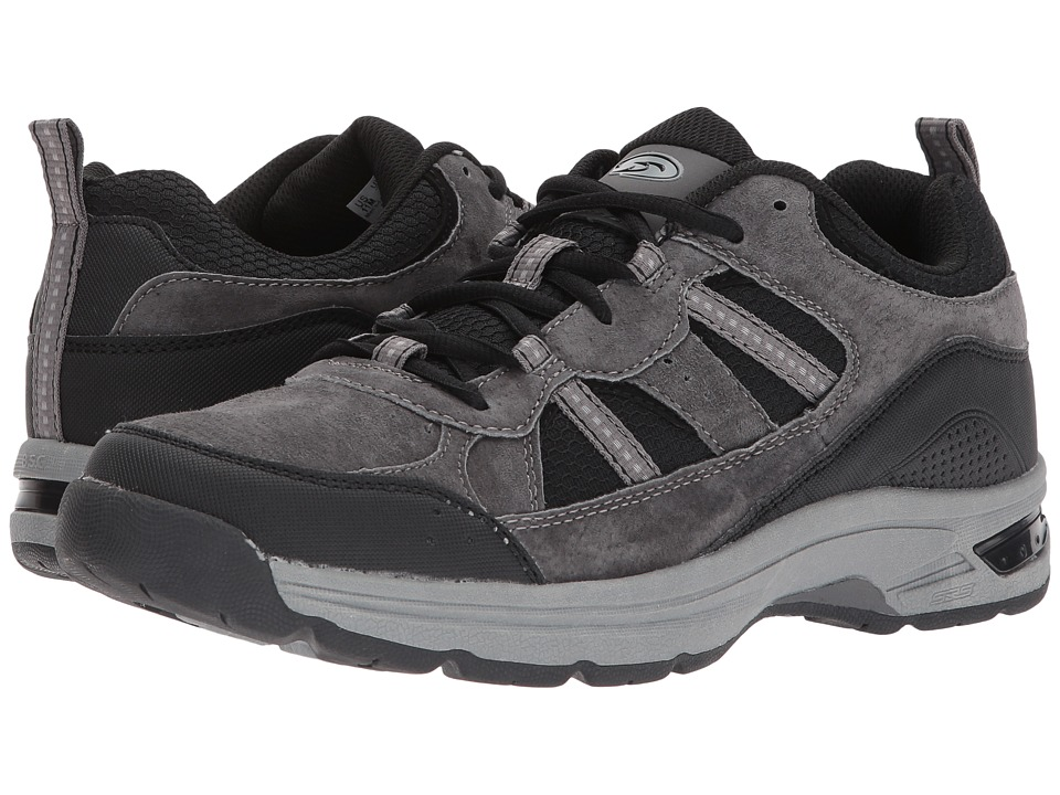 Dr. Scholl's - Trail 830 (Grey/Black Suede/Mesh) Men's Shoes
