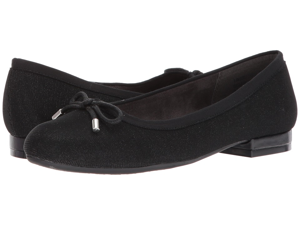 A2 by Aerosoles Good Cheer (Black Sparkle) Women
