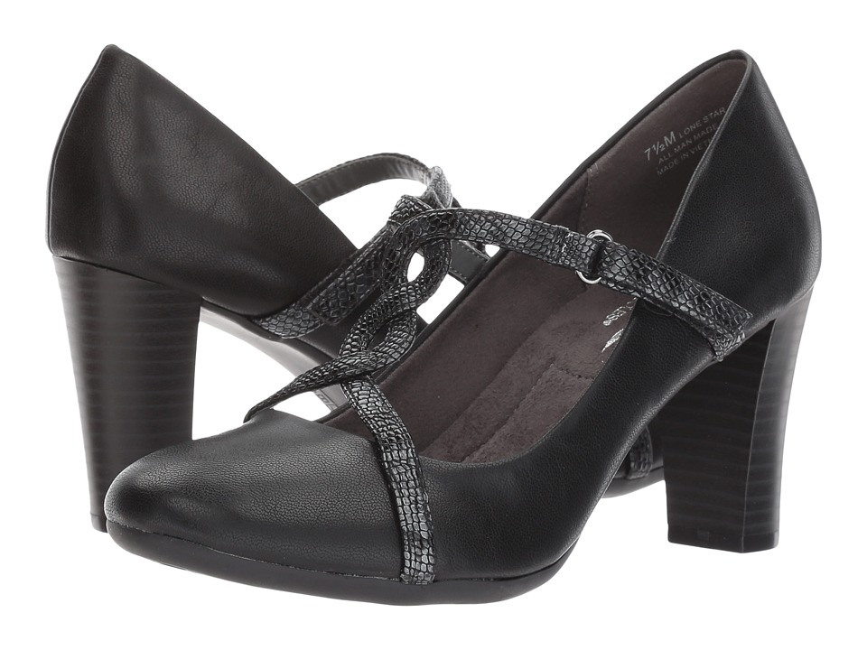A2 by Aerosoles - Lone Star (Black Combo) Women's Shoes