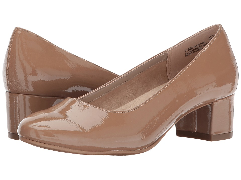 A2 by Aerosoles - Notepad (Nude Patent) Women's Shoes
