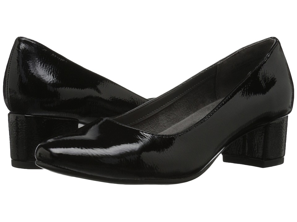 A2 by Aerosoles - Notepad (Black Patent) Women's Shoes