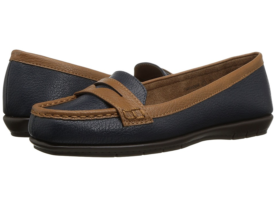 A2 by Aerosoles Sandbar (Navy Combo) Women