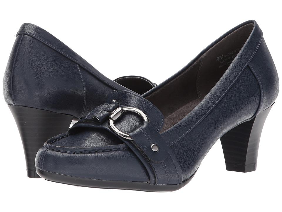 A2 by Aerosoles - Shore Start (Navy) Women's Shoes
