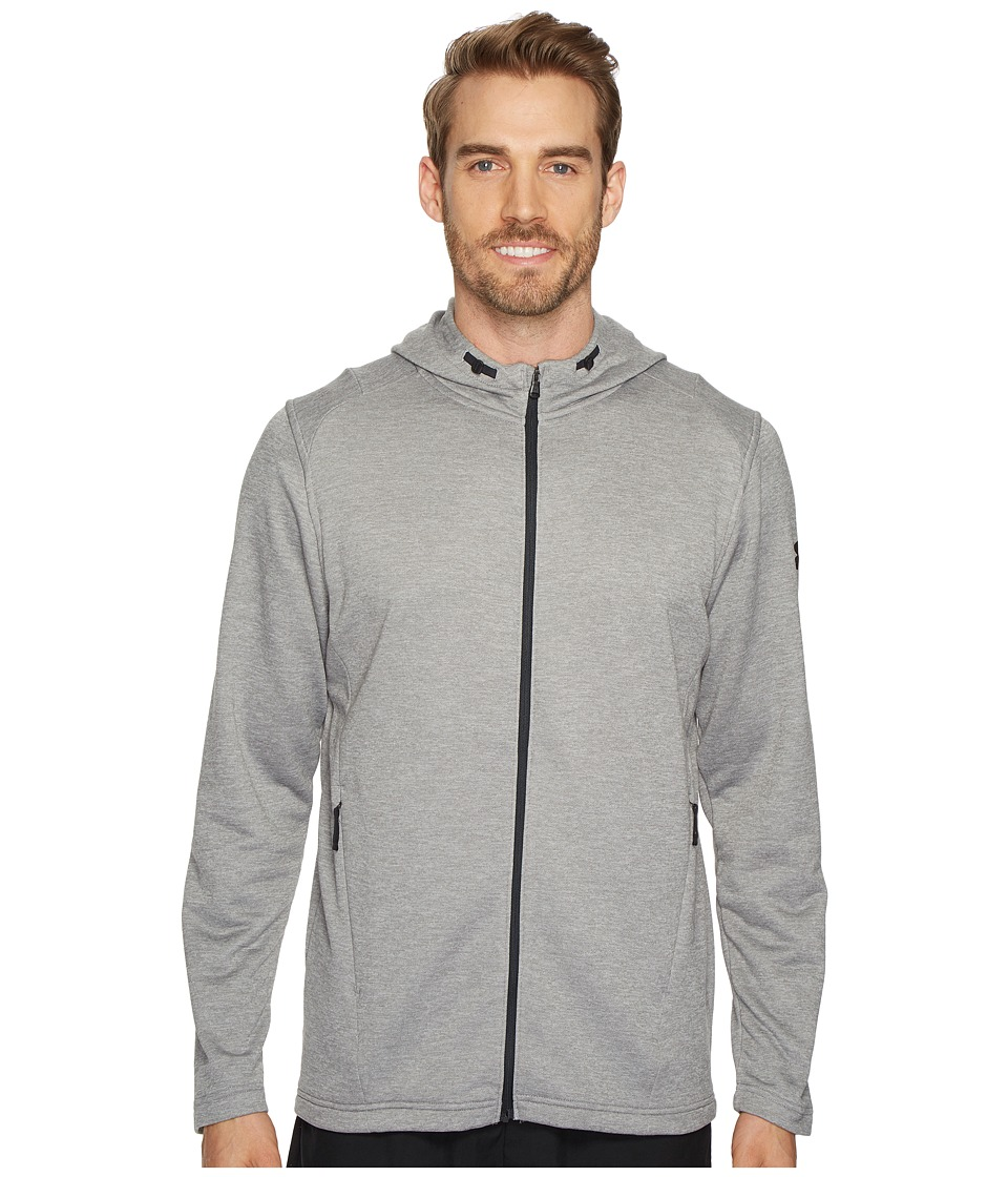 Under Armour Tech Terry Full Zip Hoodie (Steel/Black) Men