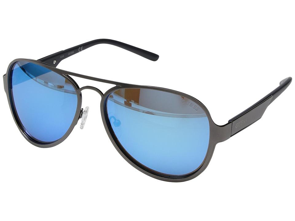 GUESS - GF0156 (Matte Gunmetal) Fashion Sunglasses