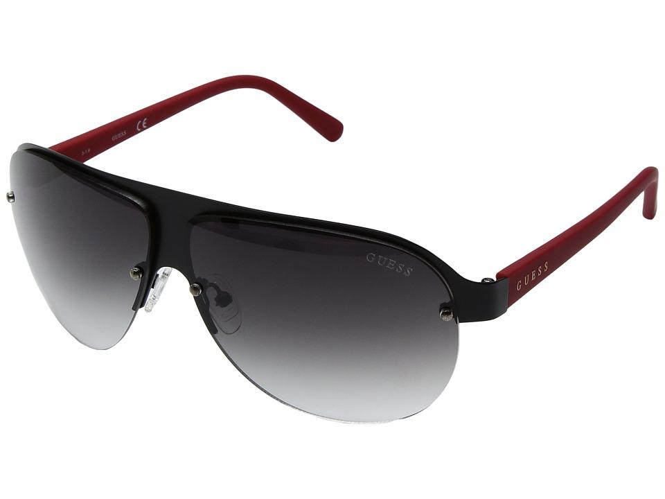 GUESS - GF0148 (Matte Black) Fashion Sunglasses