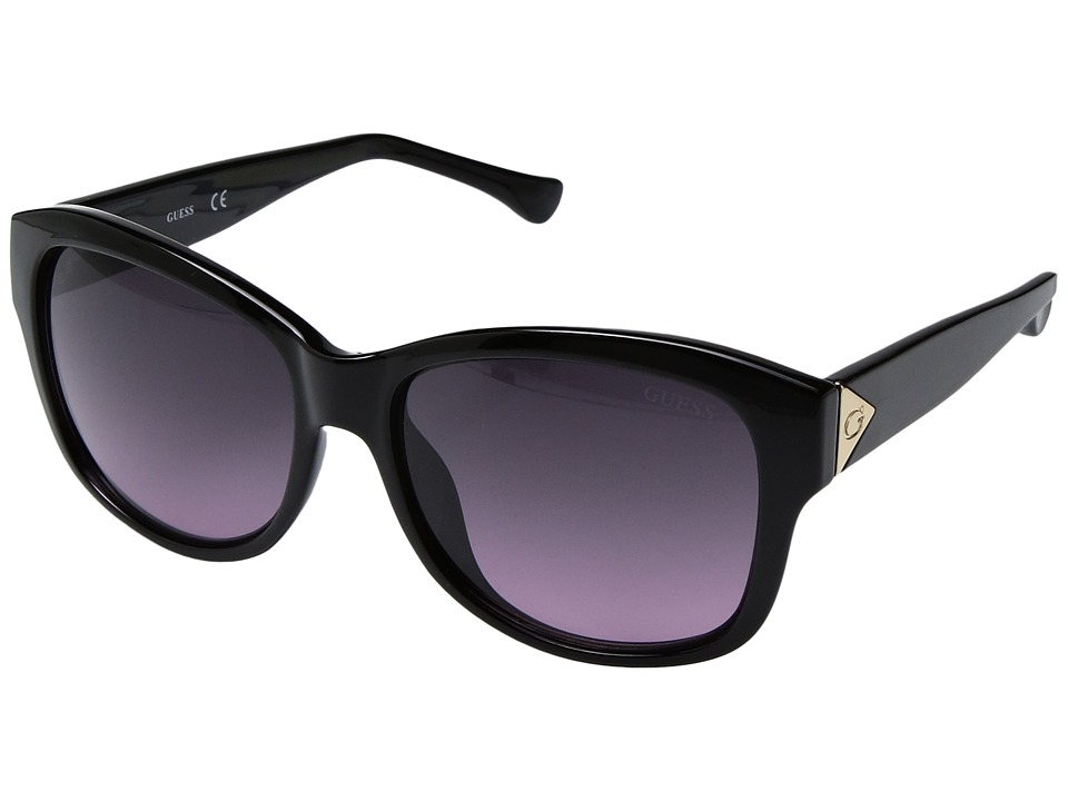 GUESS - GF0259 (Shiny Black) Fashion Sunglasses