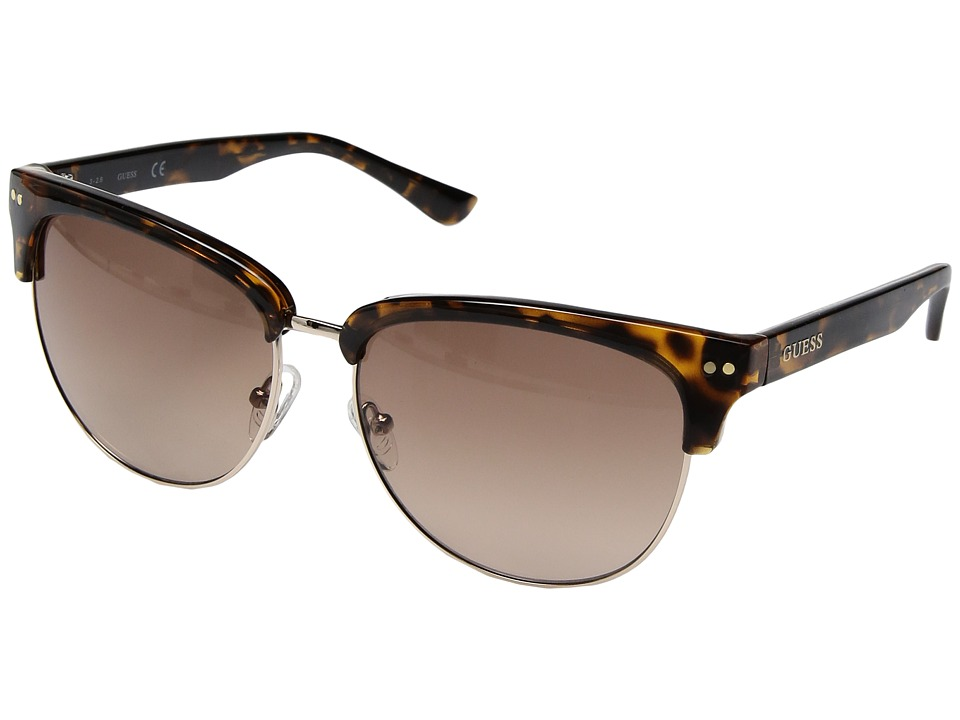 GUESS - GF0283 (Dark Havana) Fashion Sunglasses