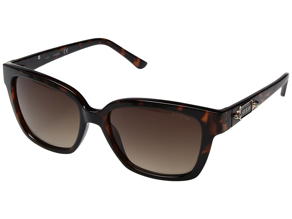GUESS - GF6014 (Dark Havana) Fashion Sunglasses