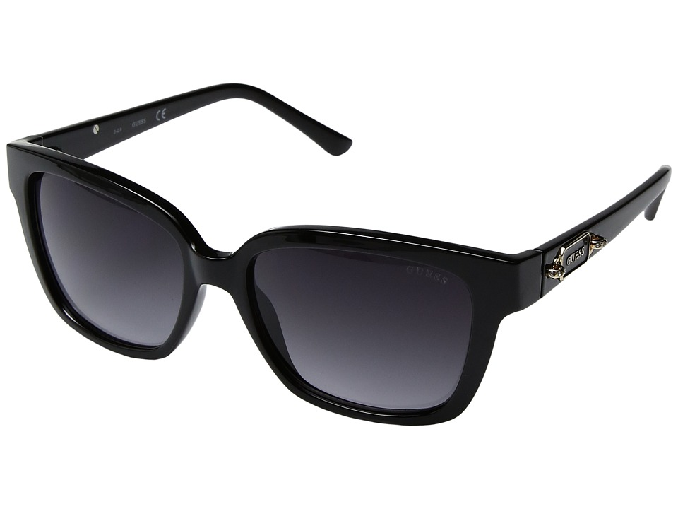 GUESS - GF6014 (Shiny Black) Fashion Sunglasses