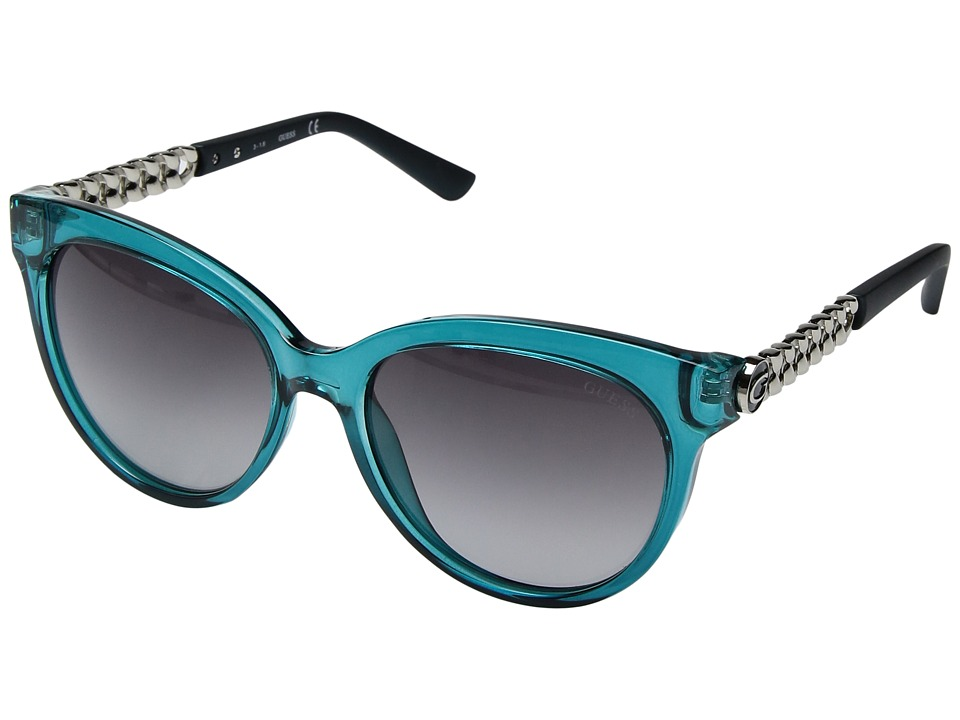 GUESS - GF6004 (Blue) Fashion Sunglasses