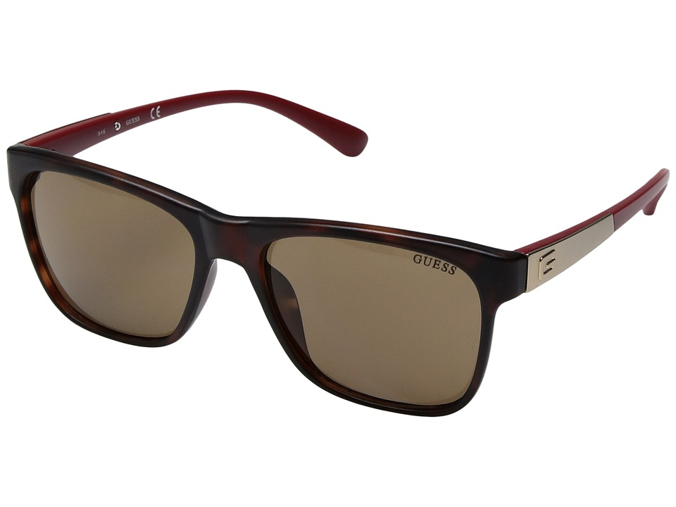 GUESS - GF5001 (Havana) Fashion Sunglasses