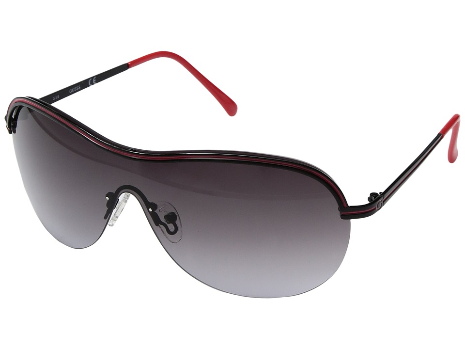 GUESS - GF6002 (Black) Fashion Sunglasses