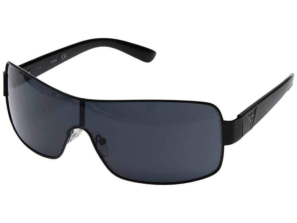GUESS - GF 6594 (Shiny Black) Fashion Sunglasses