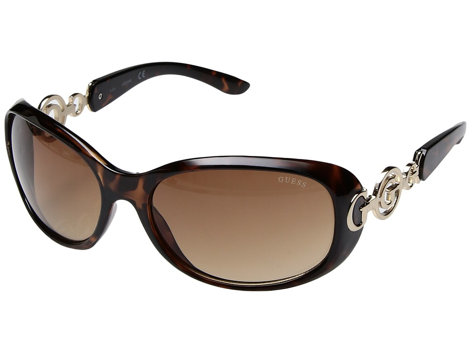 GUESS - GU7022F (Tortoise) Fashion Sunglasses