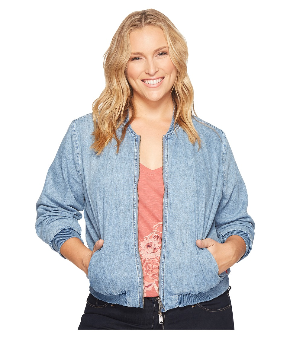 Lucky Brand - Plus Size Bomber Jacket (Sway) Women's Coat