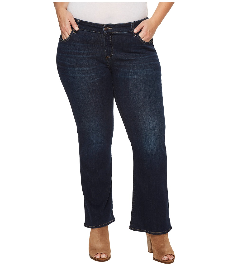 Lucky Brand - Plus Size Ginger Bootcut Jeans in Twilight Blue (Twilight Blue) Women's Jeans