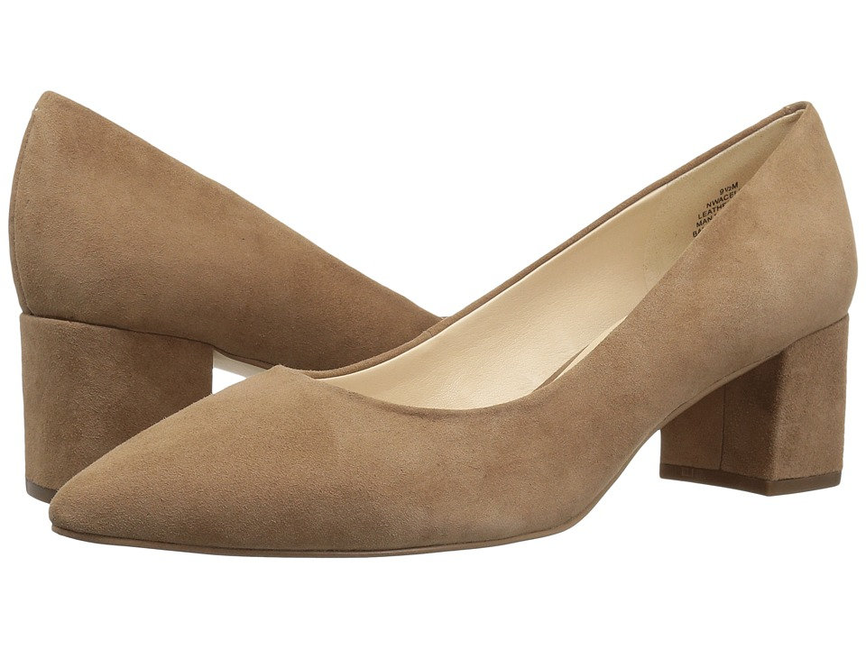 Nine West Aceline (Natural Suede) Women