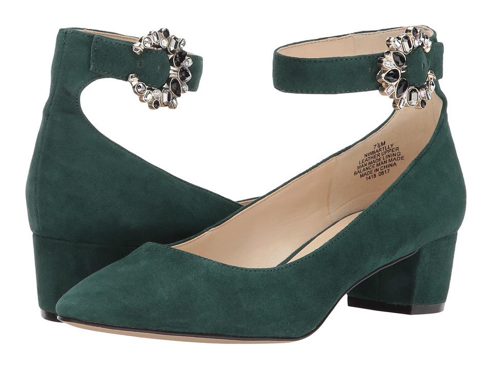 Nine West Bartilly (Dark Green Suede) Women