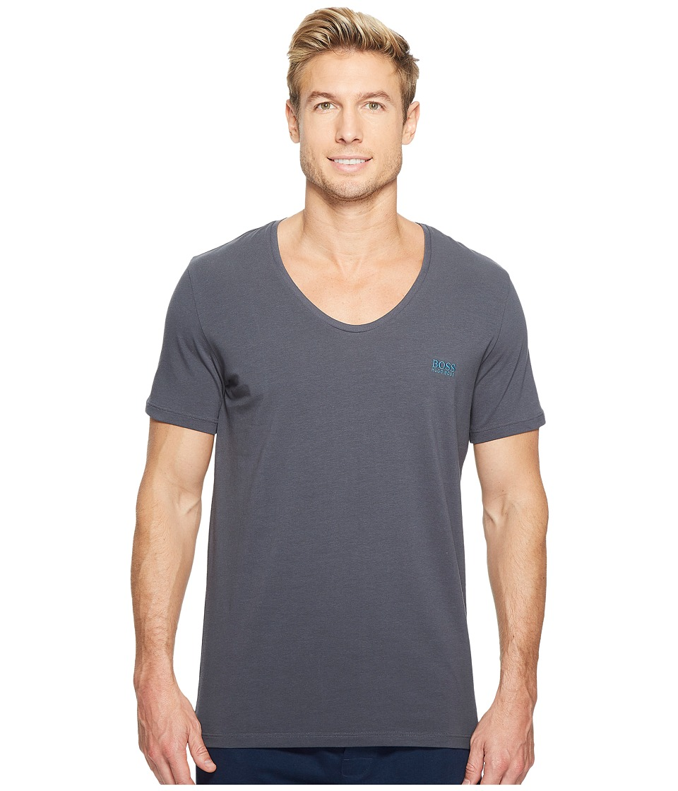 BOSS Hugo Boss - Mix and Match T-Shirt DN 10143871 (Dark Grey) Men's Pajama