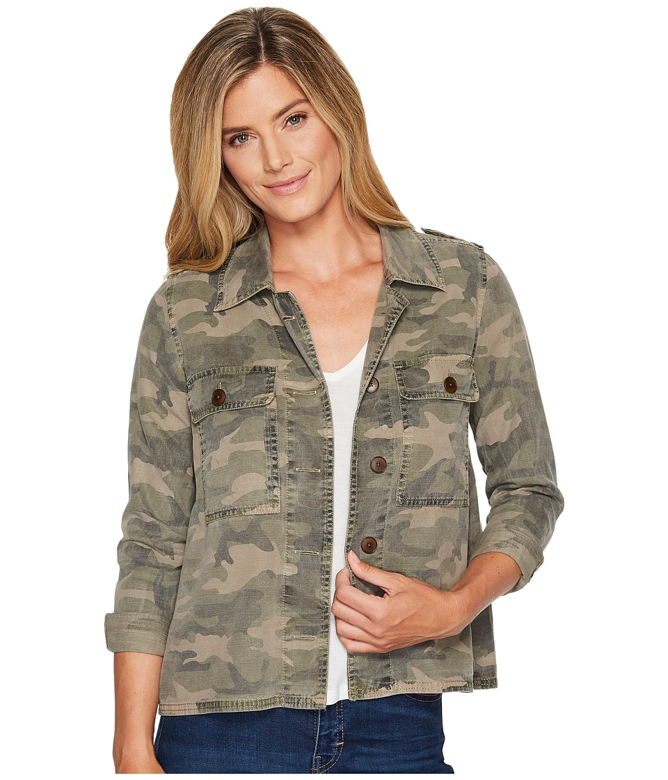 Lucky Brand - Camo Shirt Jacket (Camo Olive Multi) Women's Coat