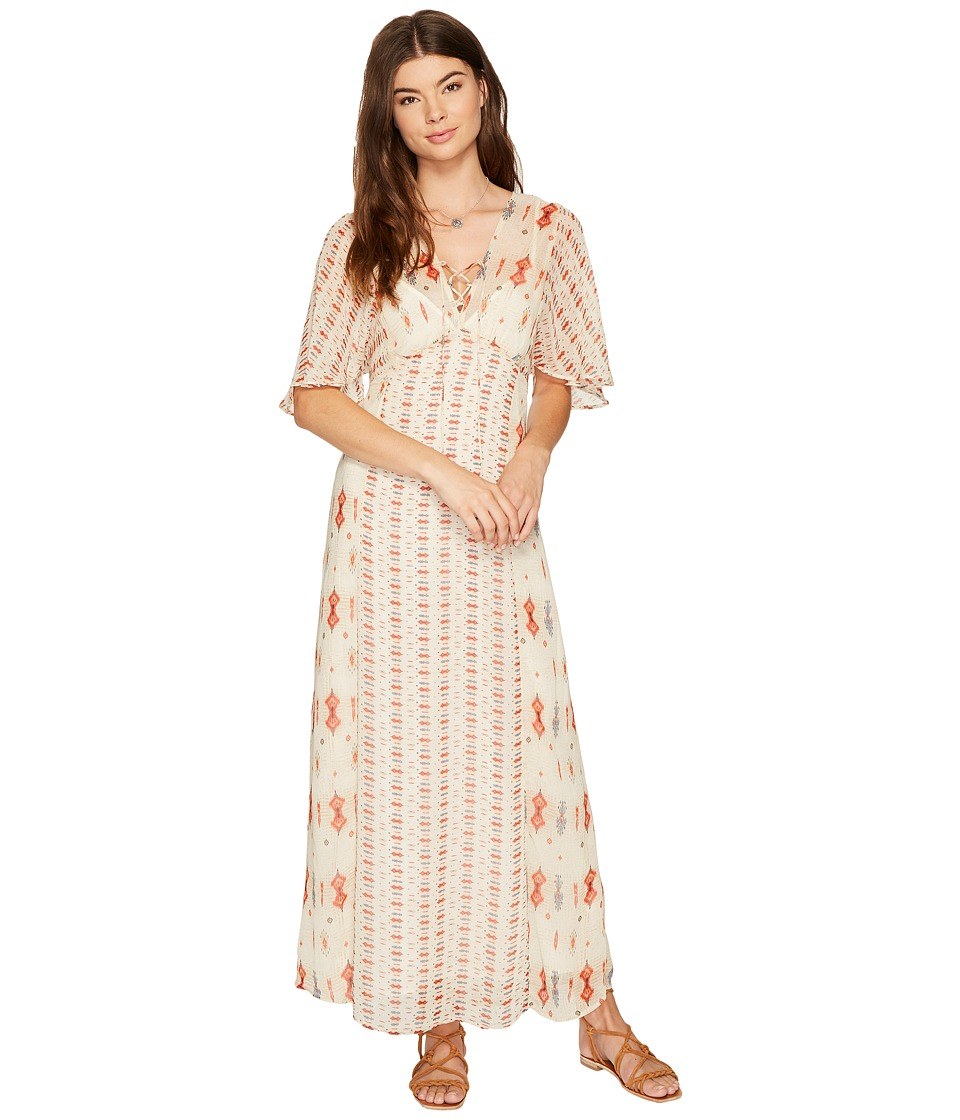 Lucky Brand - Vicky Dress (Natural Multi) Women's Dress