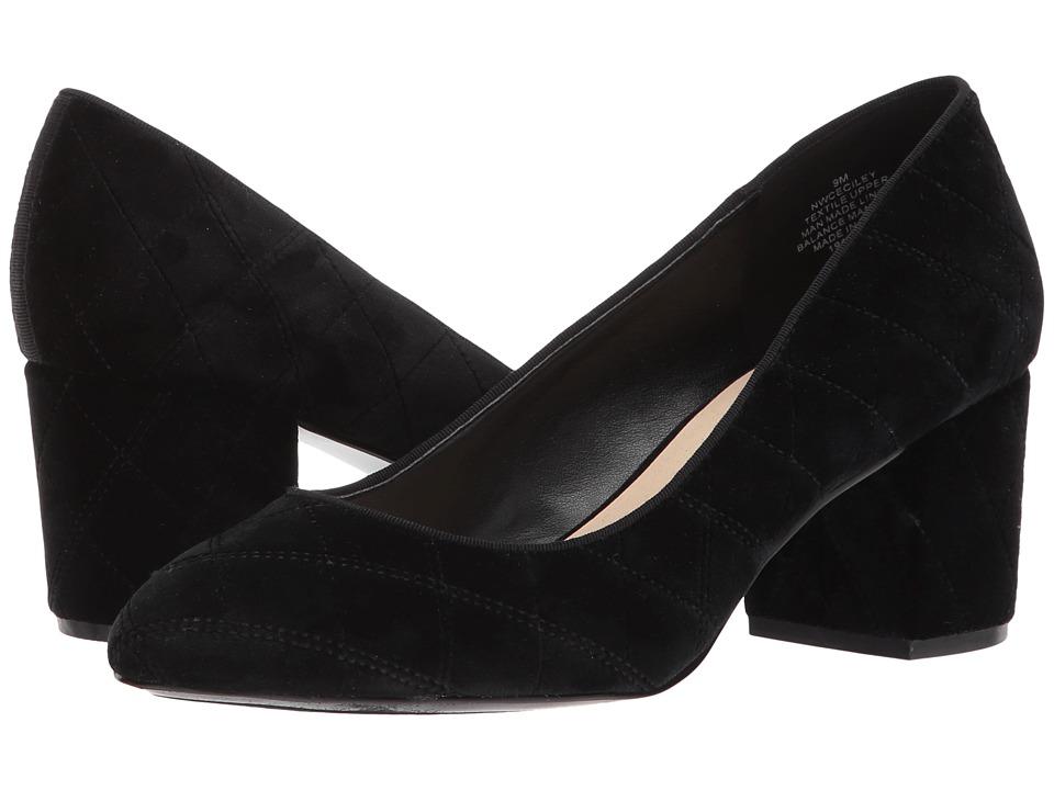 Nine West Ceciley (Black/Black Fabric) Women
