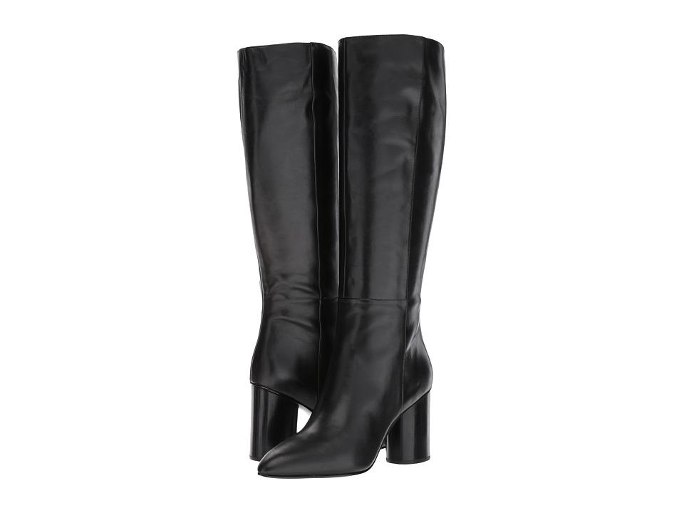 Nine West Christie (Black Leather) Women