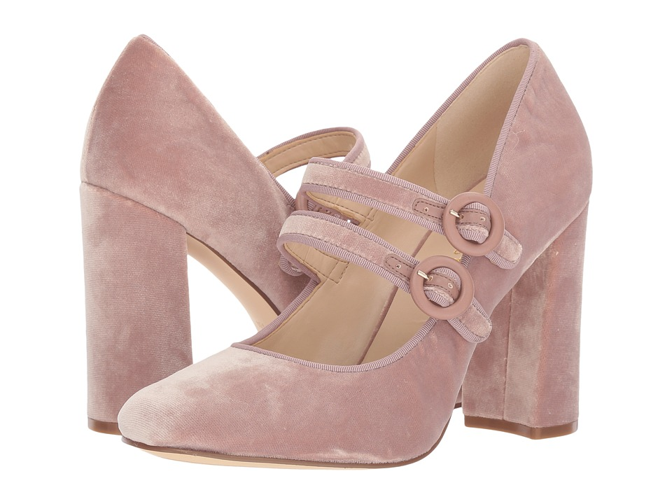 Nine West Dabney (Natural/Natural Fabric) High Heels