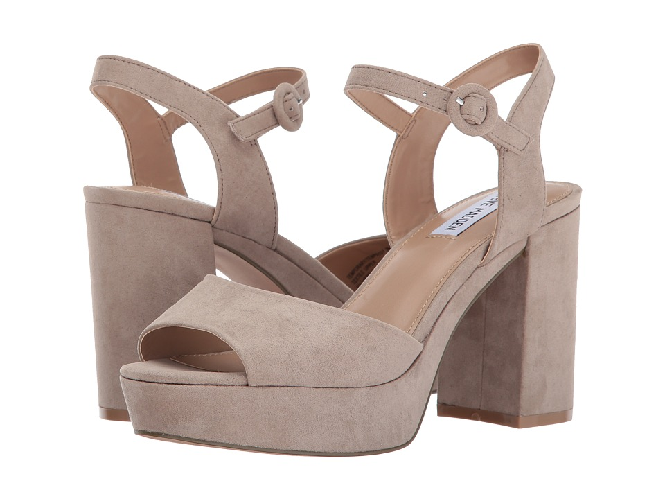 Steve Madden - Temporary (Taupe) High Heels