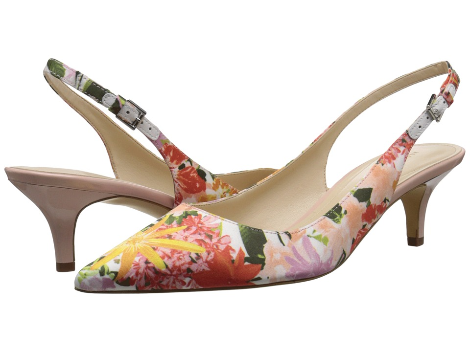 Marc Fisher - Tiffani 6 (Multi Floral) Women's 1-2 inch heel Shoes