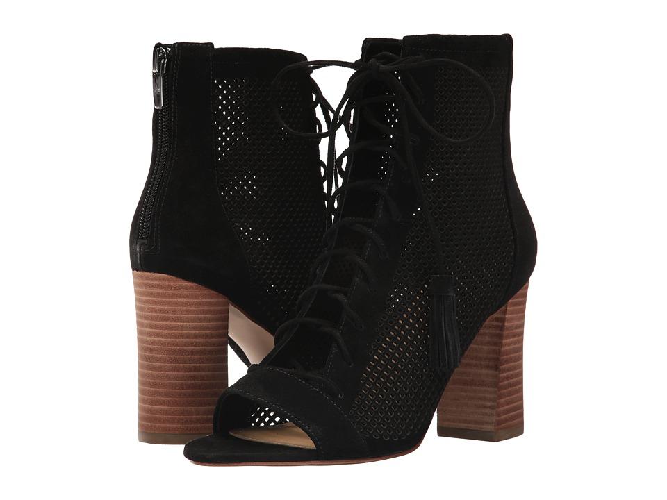 Marc Fisher - Shaini (Black) Women's Toe Open Shoes