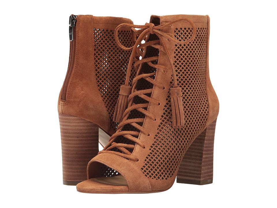 Marc Fisher - Shaini (Tan) Women's Toe Open Shoes